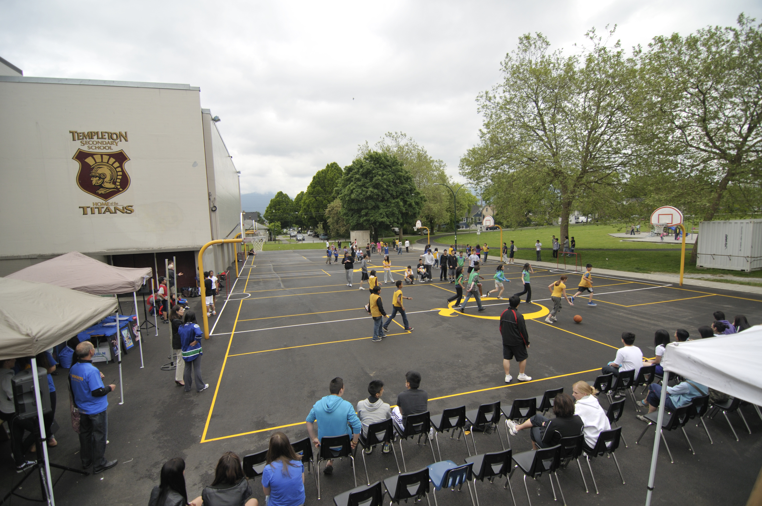 Quinn's Court at Templeton Secondary, Vancouver