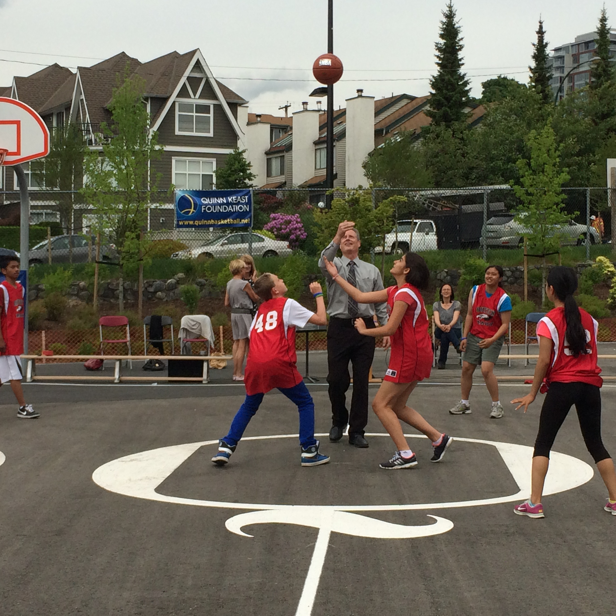 Queen Mary Elementary Quinn's Court, May 22 2014