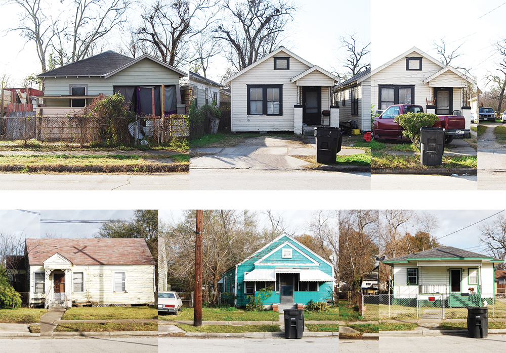 Houston neighborhood elevations