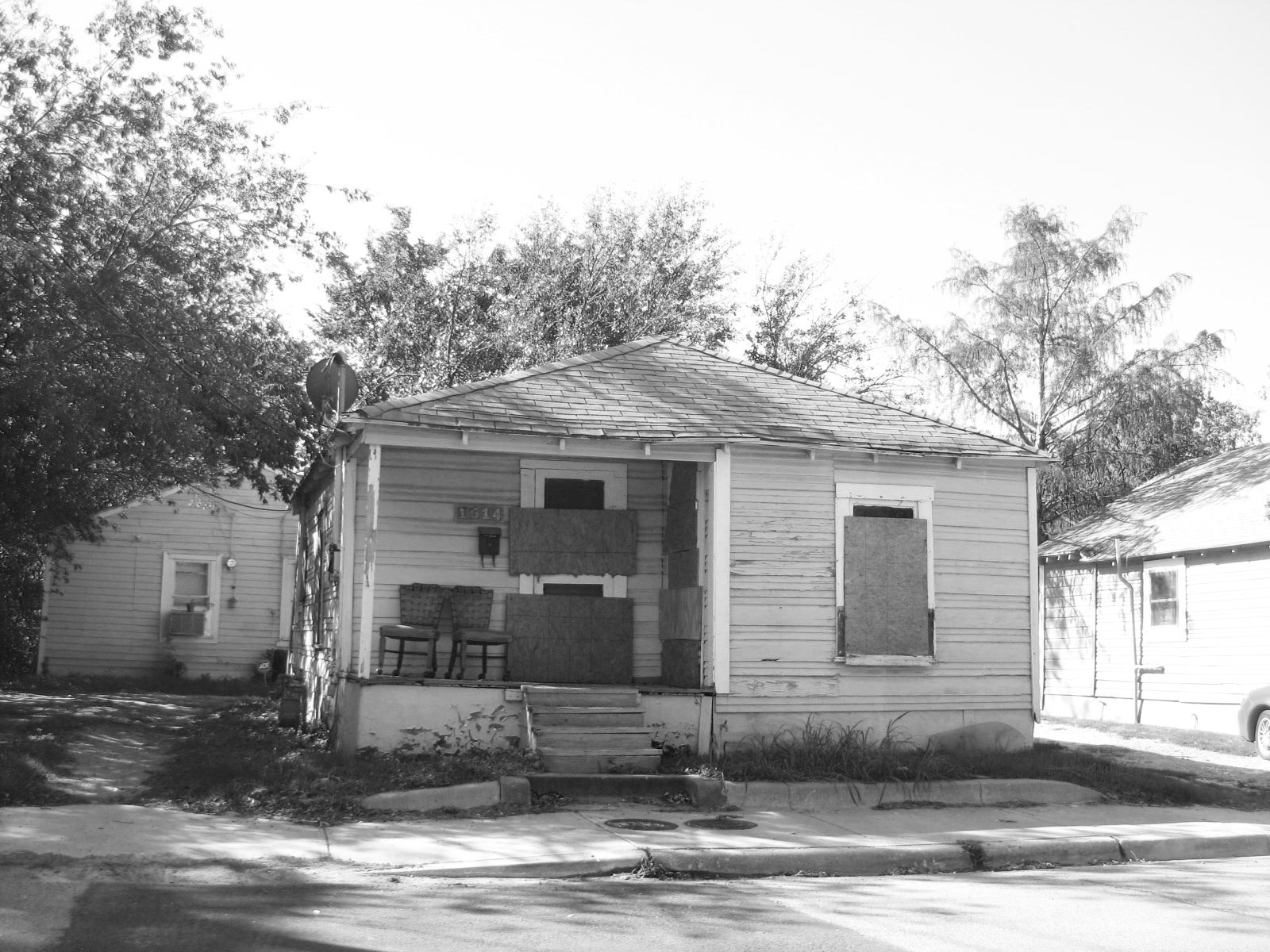 An example of a blighted home