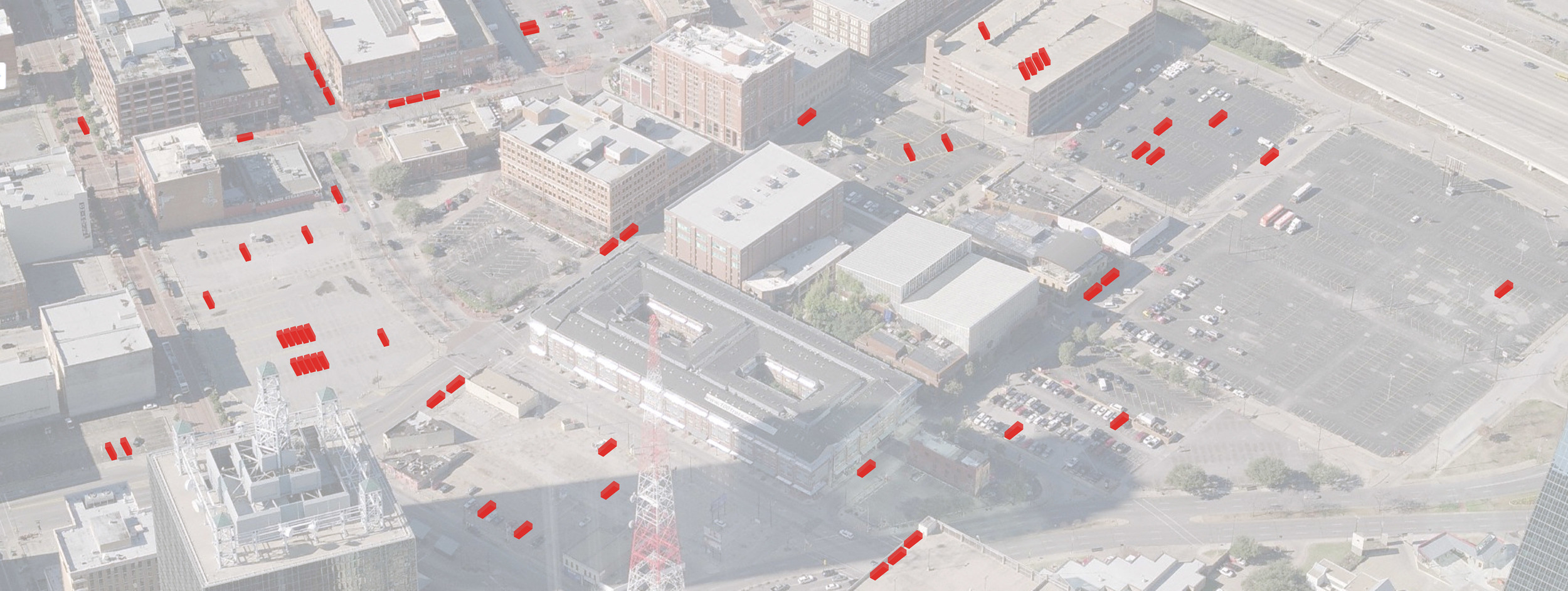 There is an opportunity to improve this underutilized urban space.