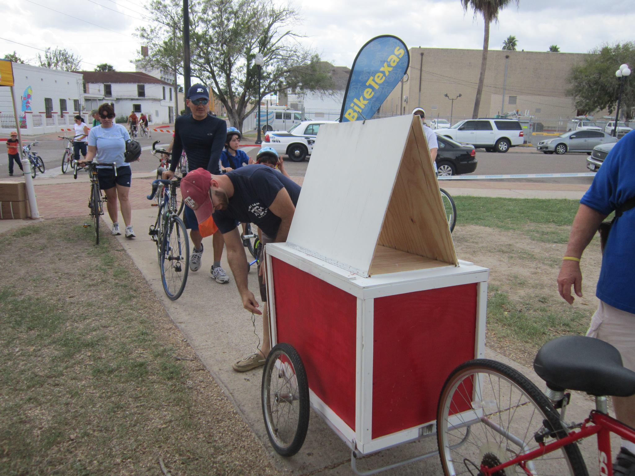 The Belden Trail-er, a design tool bike attachment