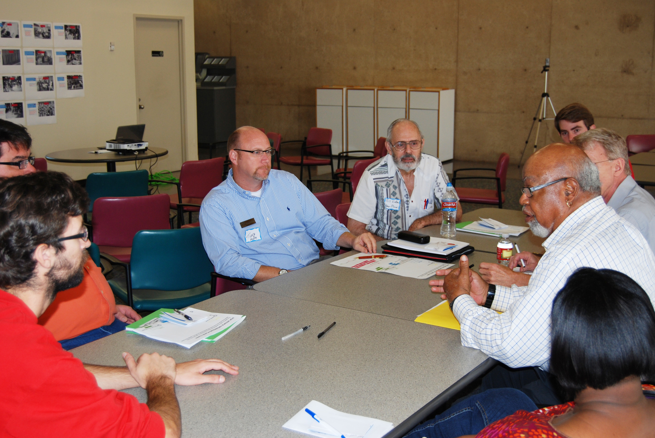Participants dug deeper into the Toolkit during group discussions.