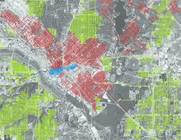 Dallas combined grids