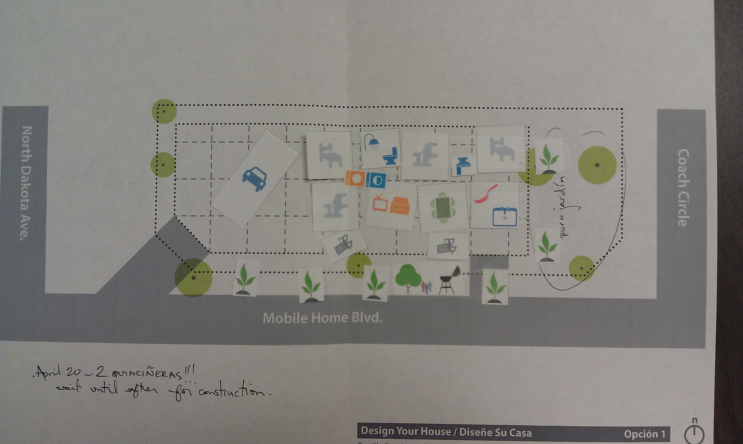 sustainABLEhouse site plan