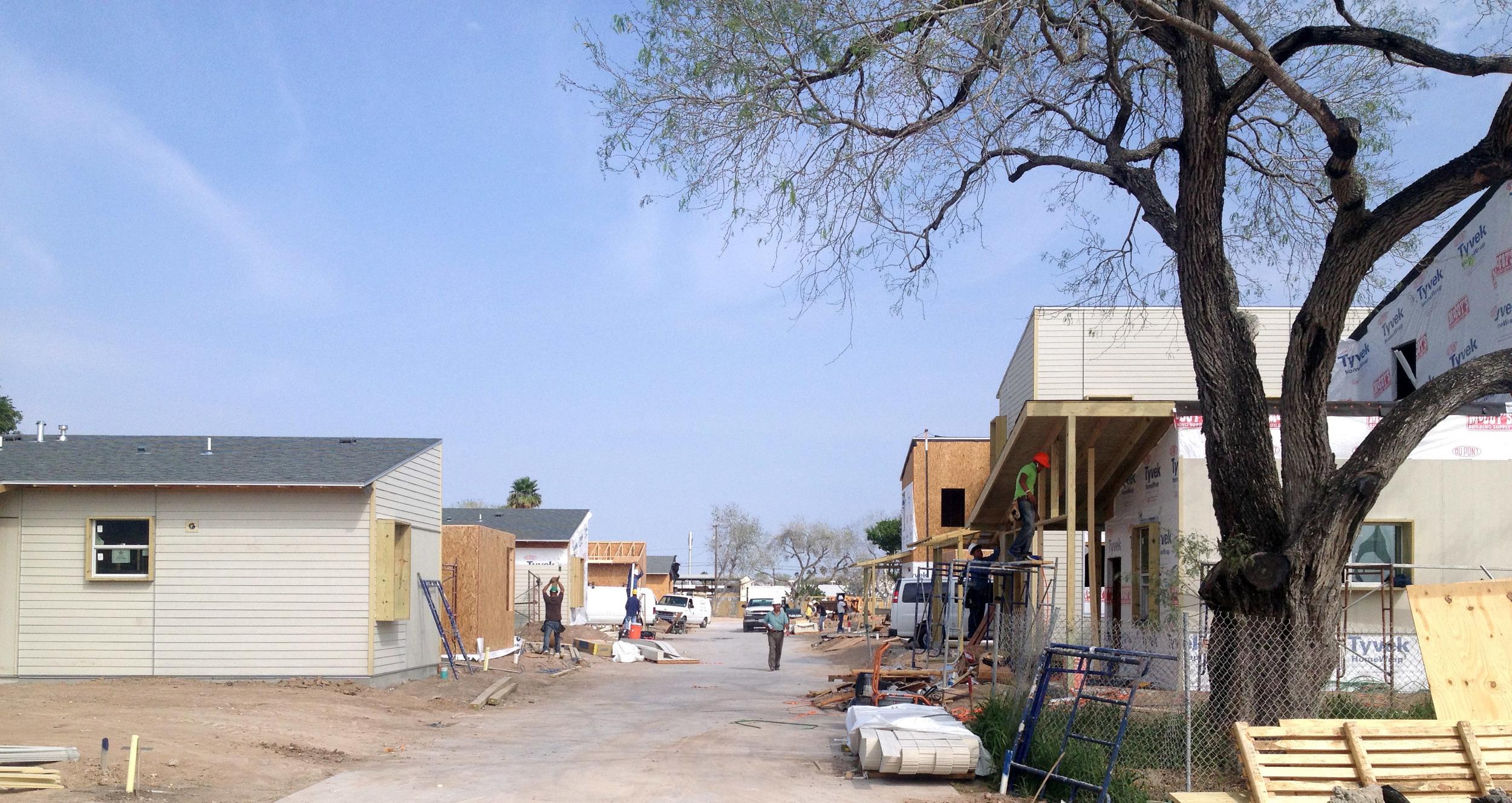 La Hacienda features several types of homes.