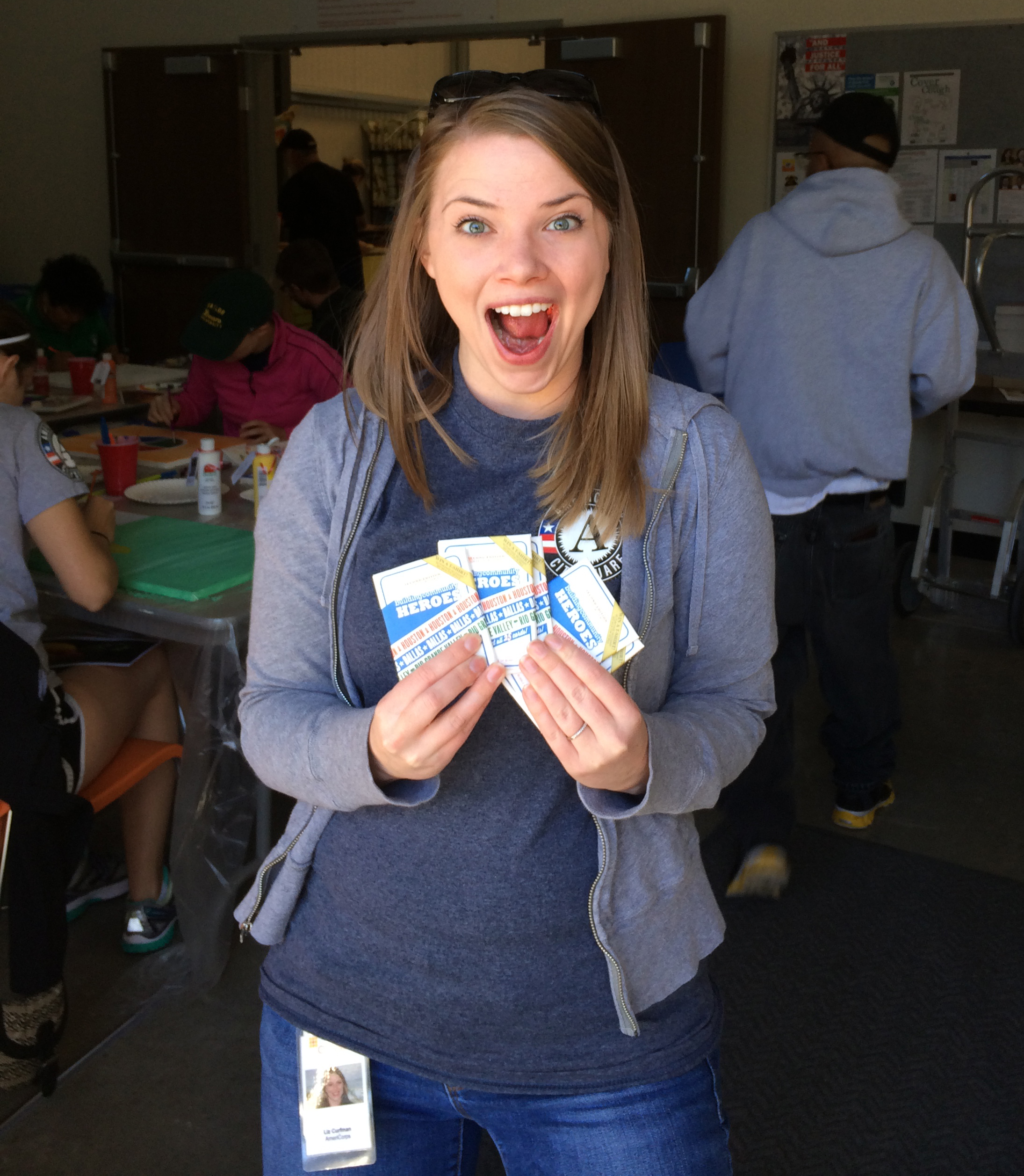 AmeriCorp's volunteers love bcHEROES!
