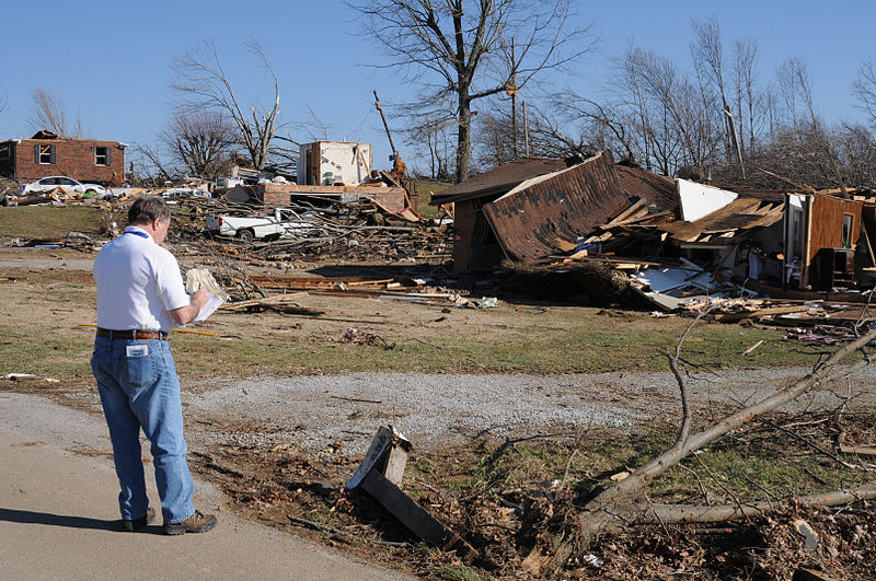 Image Credit Lafayette, TN, February 8, 2008. George Armstrong/FEMA Photo Library