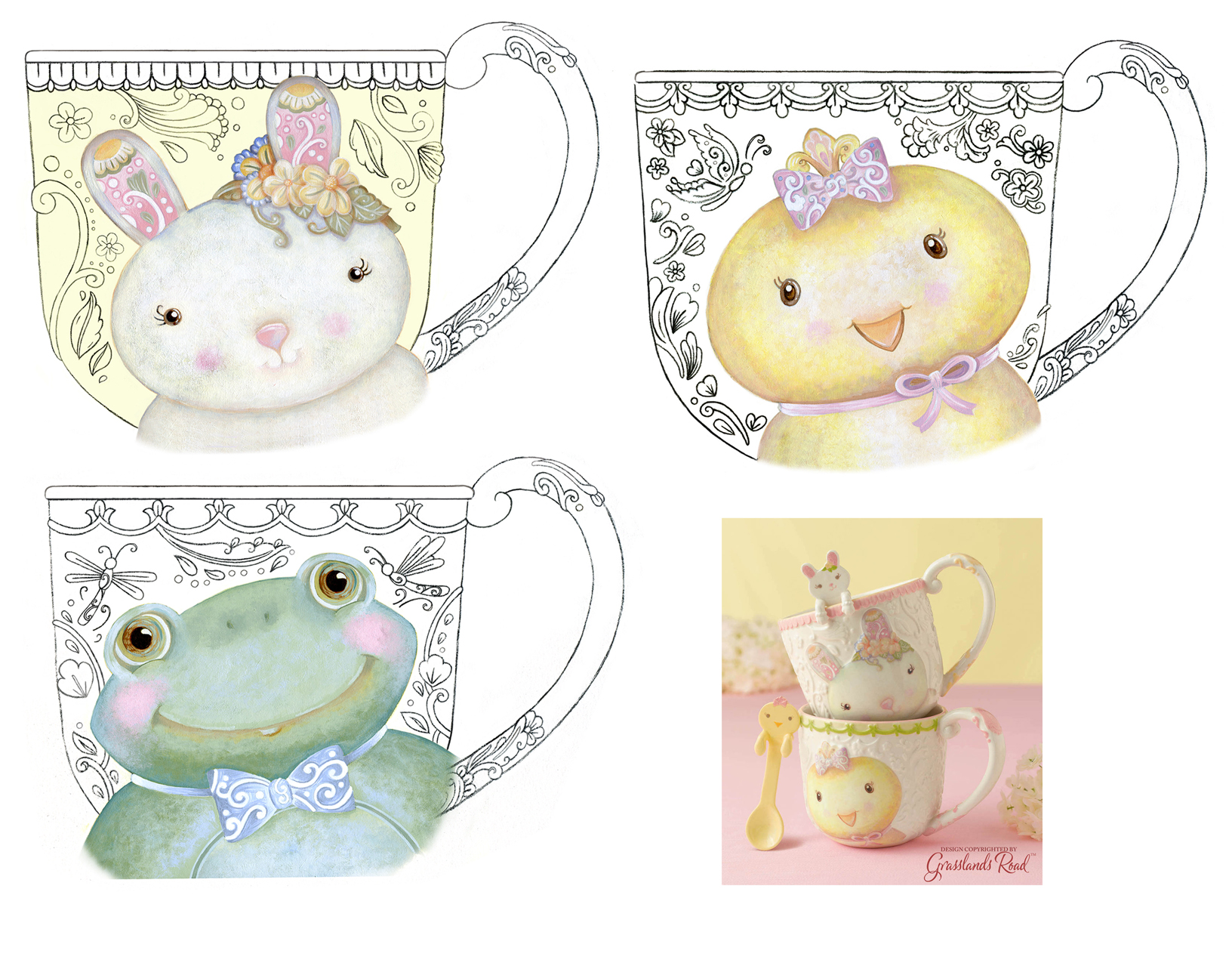 Sweet Tales Mug Designs