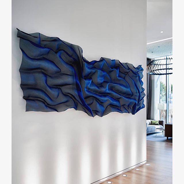 The artwork that made the homepage for the @17a_art_consultants website 👆🏼#blue #indigo #ourkindofthing #wouldloveonefortheoffice  #Repost @17a_art_consultants ・・・ Calm and beautiful @valiantclinic .  #17aartconsultants #artconsultant #artconsulting #artconsultantdubai #abstractart #contemporaryart #wallart #wallsculpture #artdubai #creativity #artworks #artworkinstallation #customart  #dubaiart #artindubai #dubai #UAE