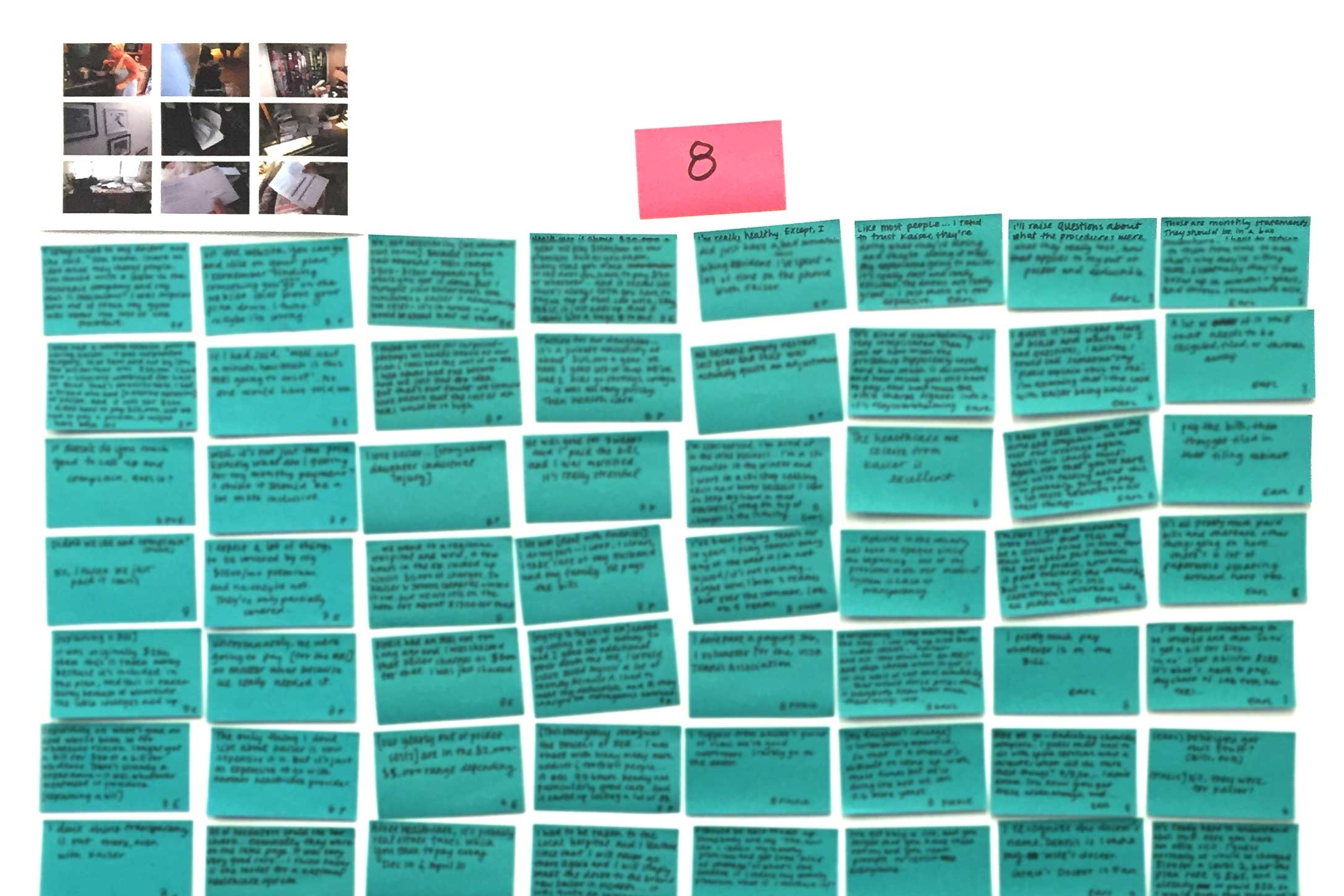 Capturing ethnography to fuel successful synthesis