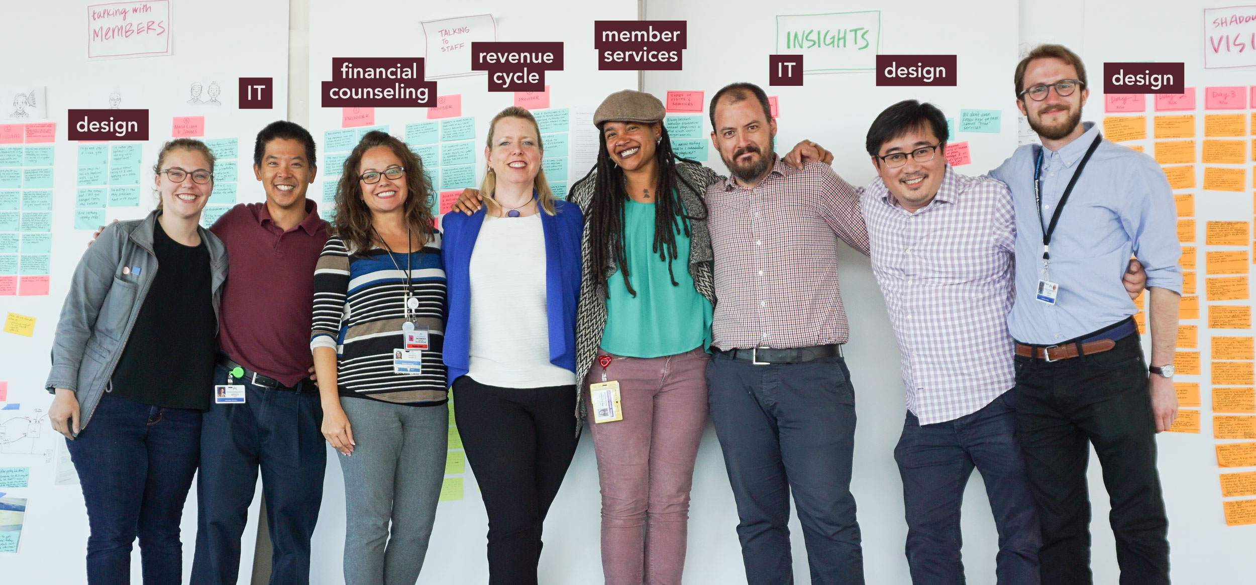 Our multi-disciplinary project design team