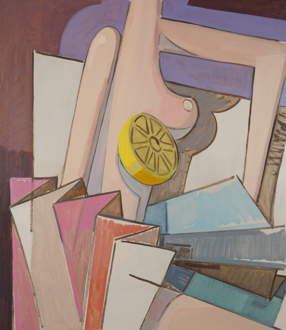 Bid to Boost, 2012, 111,5 x 96,5 cm. Oil on Canvas.
