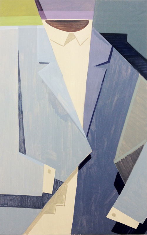 Untitled, 2012, 132 x 81 cm Oil on canvas