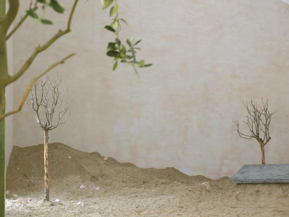 Installation view from Mathias & Mathias, 'Ricotta' at BKS Garage, 2013