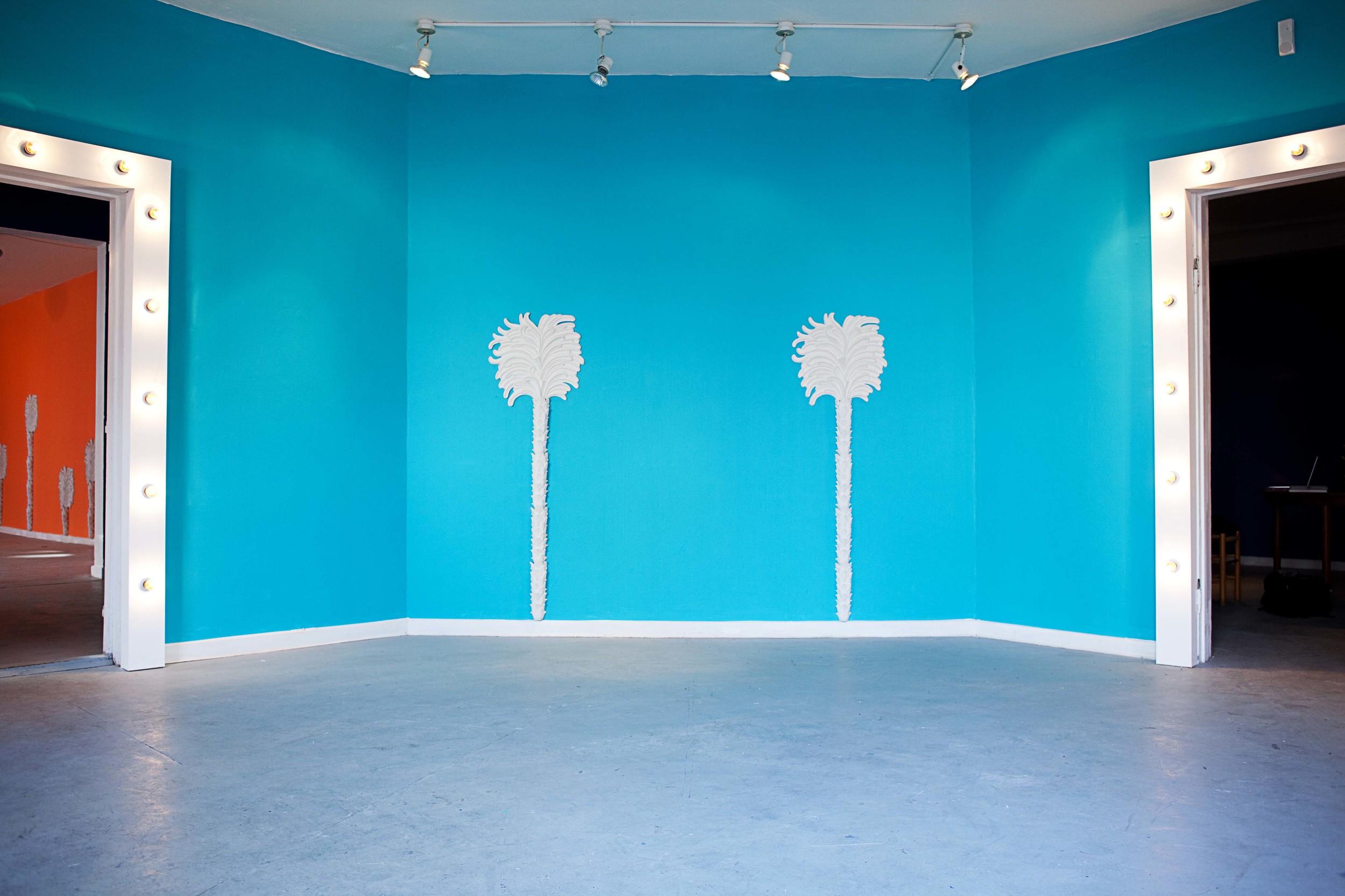 Installation view from Mathias & Mathias, 'Fine and Dandy', Q, Copenhagen, 2012