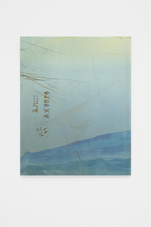Untitled , 2014, 20 x 25 cm,  Anodized titanium