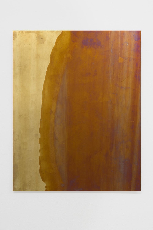 Untitled , 2014, 50 x 40 cm, Anodized titanium