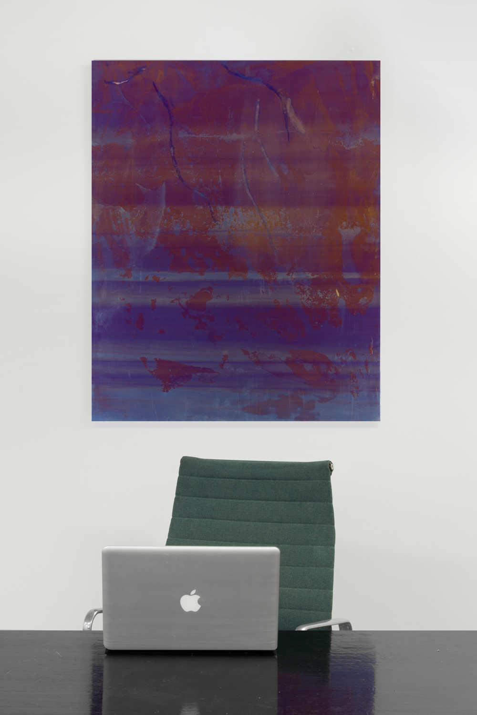 Untitled , 2014, 100 x 80 cm, Anodized titanium