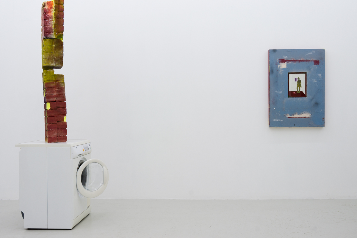 Installation view from Ulrik Weck's exhibition Faux Ruin