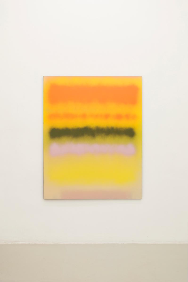 Too Much Taqoony, 2014,Sprayon canvas, 153 x 122 cm