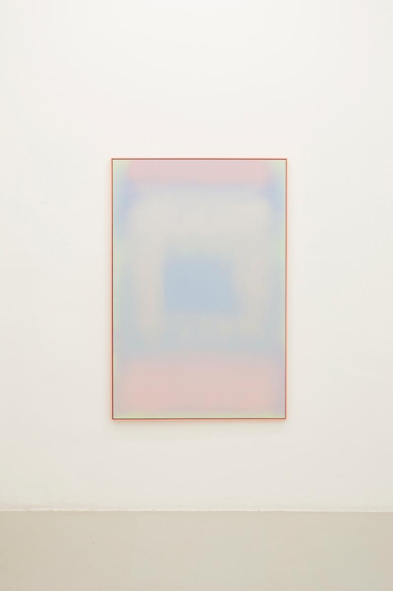 Square Angel, 2014,Sprayon canvas, 153 x 101cm