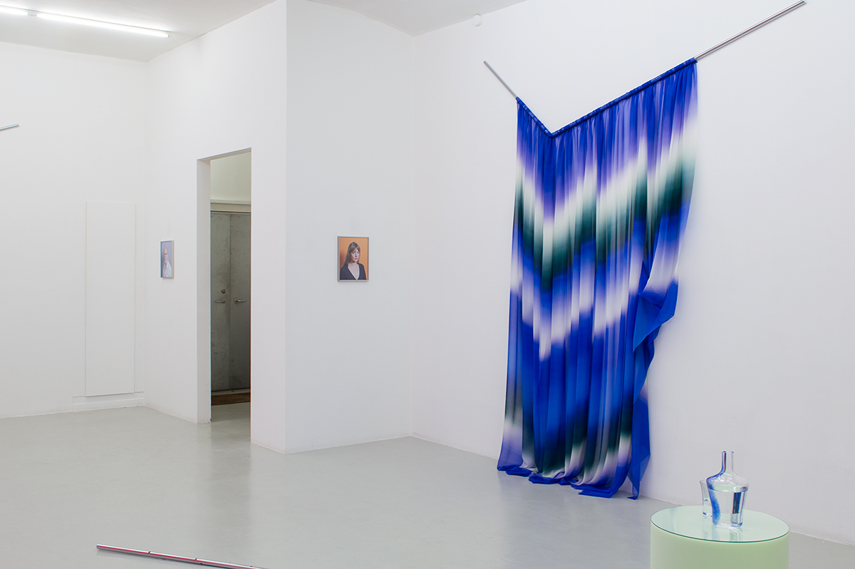 Installation view from Justin Morin's exhibition Petrolina Part II