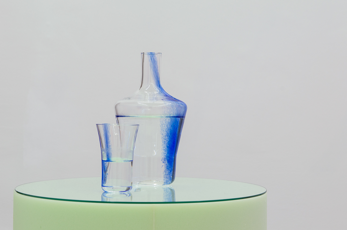 Cold Water, 2015 Glass ensemble manufactured by CIA V Meisenthal