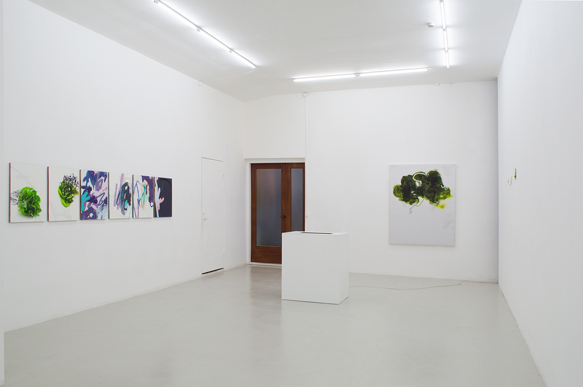 Installation view from Michael Manning's exhibition 'And Alterations'