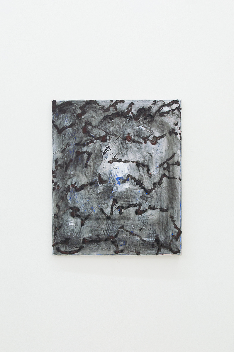 Untitled, 2015, 60 x 50 cm, Mixed media on canvas