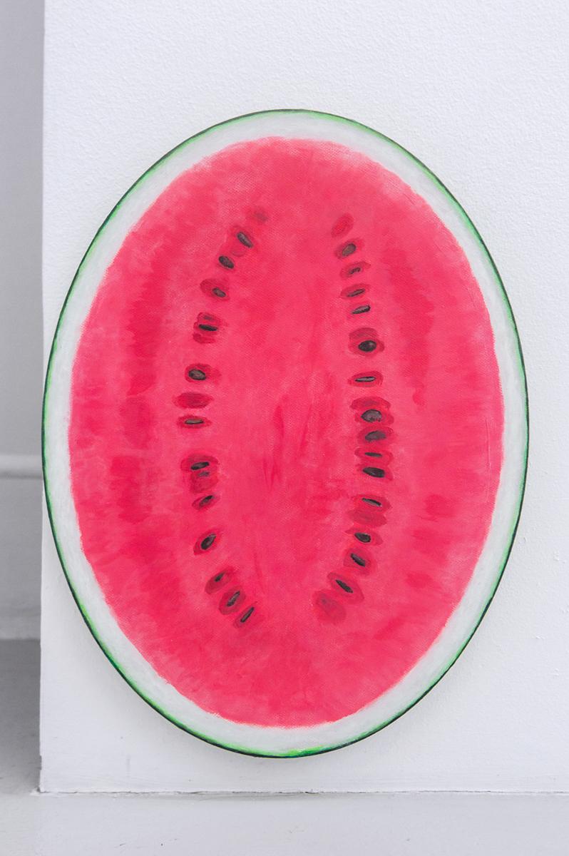 Adam Cruces    Watermelon,  2016 40 x 30 cm Acrylic on canvas