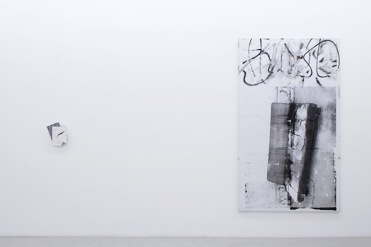 Installation view from 'Beau Lauss' (Zoe de Soumagnat and Antoine Donzeaud)