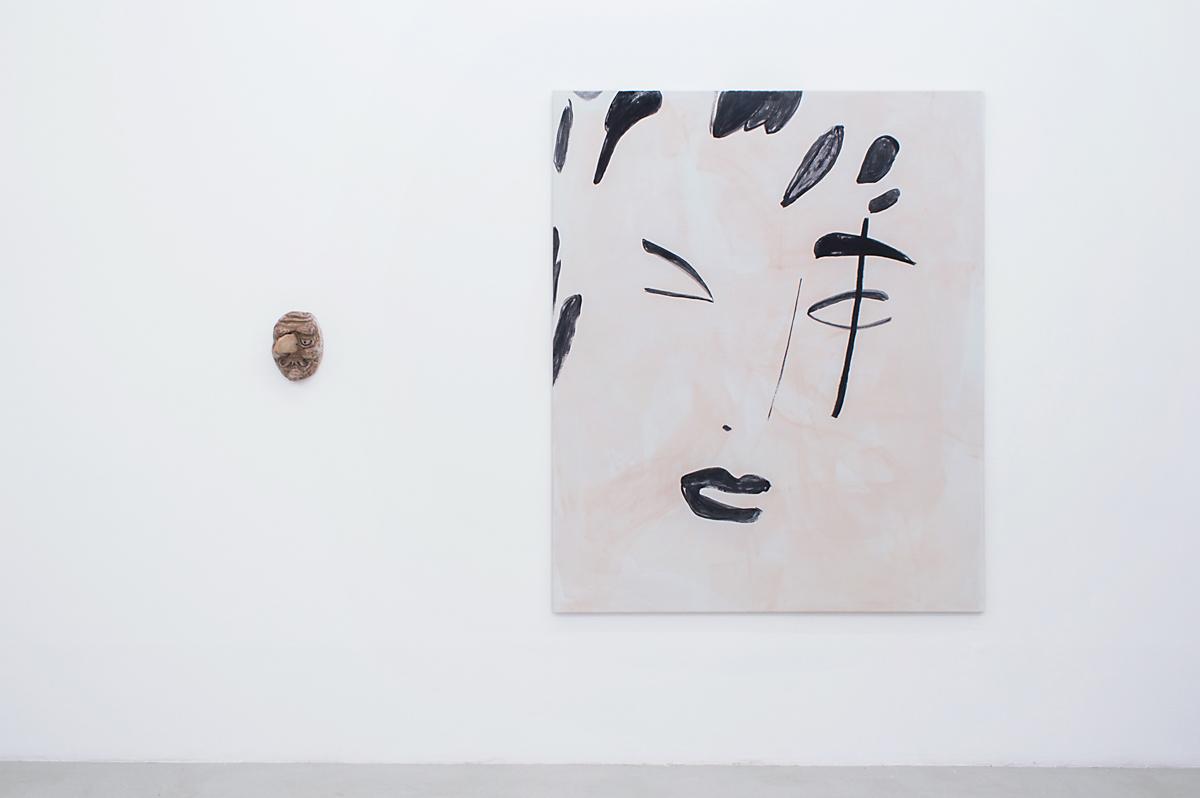 Installation view from 'Beau Lauss' (Matthieu Haberard and Zoe de Soumagnat)