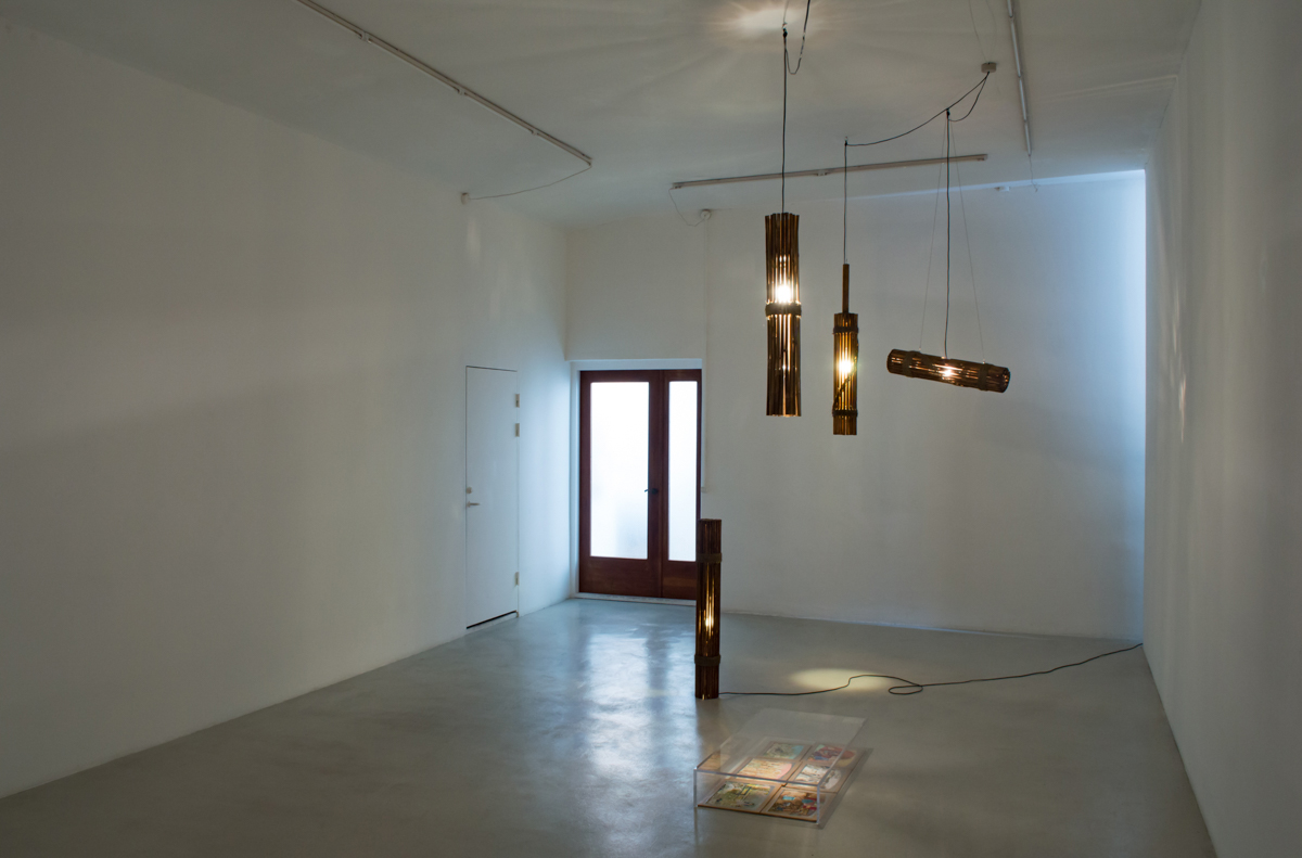 Installation view from 'Sticky People'