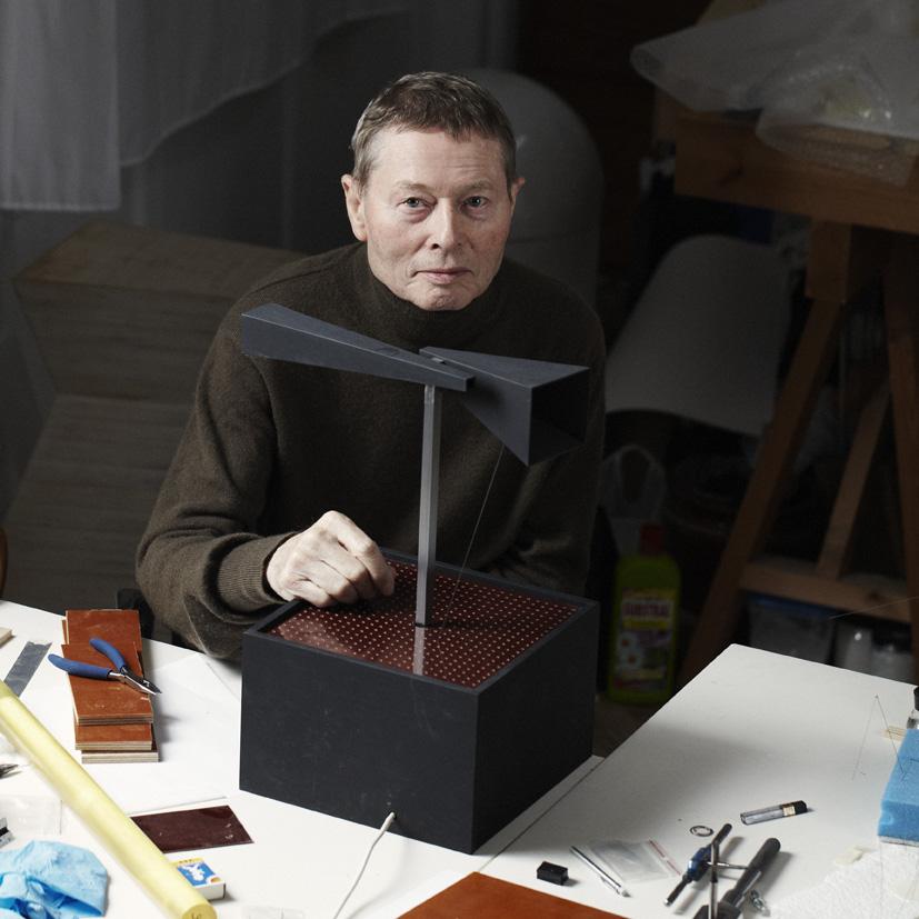 Freddy Freak in his studio