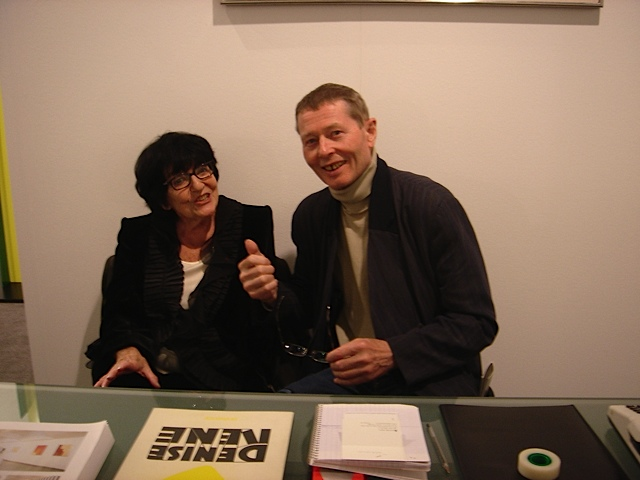Freddy Freak with Denise Rene at Art Basel (private photo)