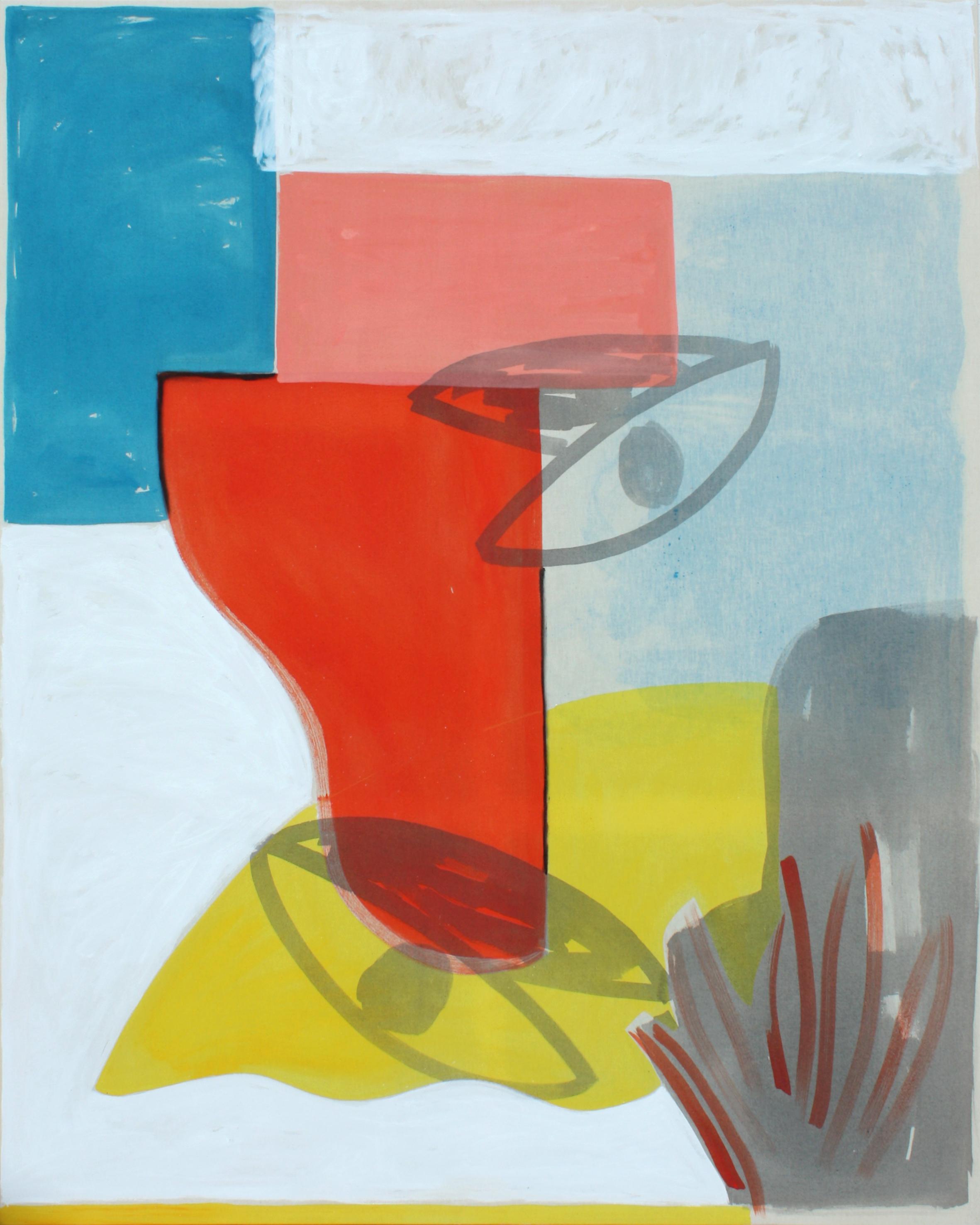 Asleep, oil and acrylic on canvas, 150 x 120 cm
