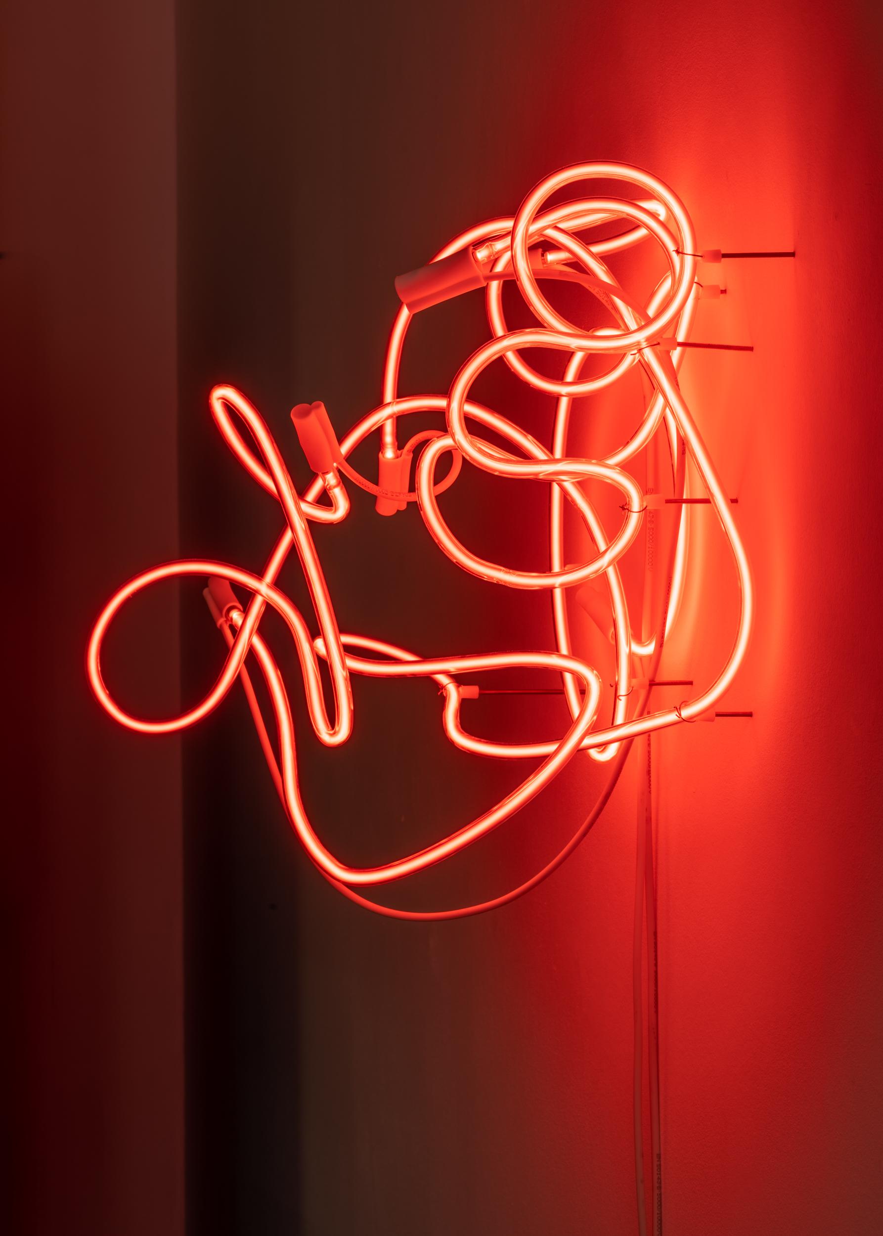 ROUGE, 2018 50 x 64 x 41 cm Neon