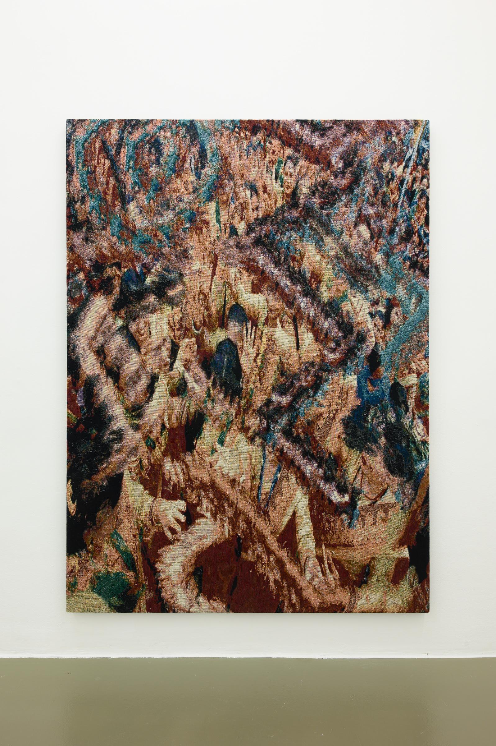 x8U/dy, 2019 190cm x 140cm Dye Cotton Tapestry