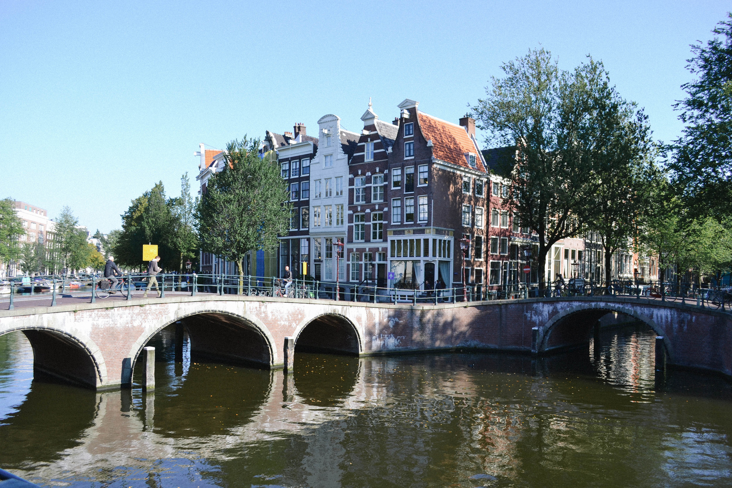 The canals in the city centre