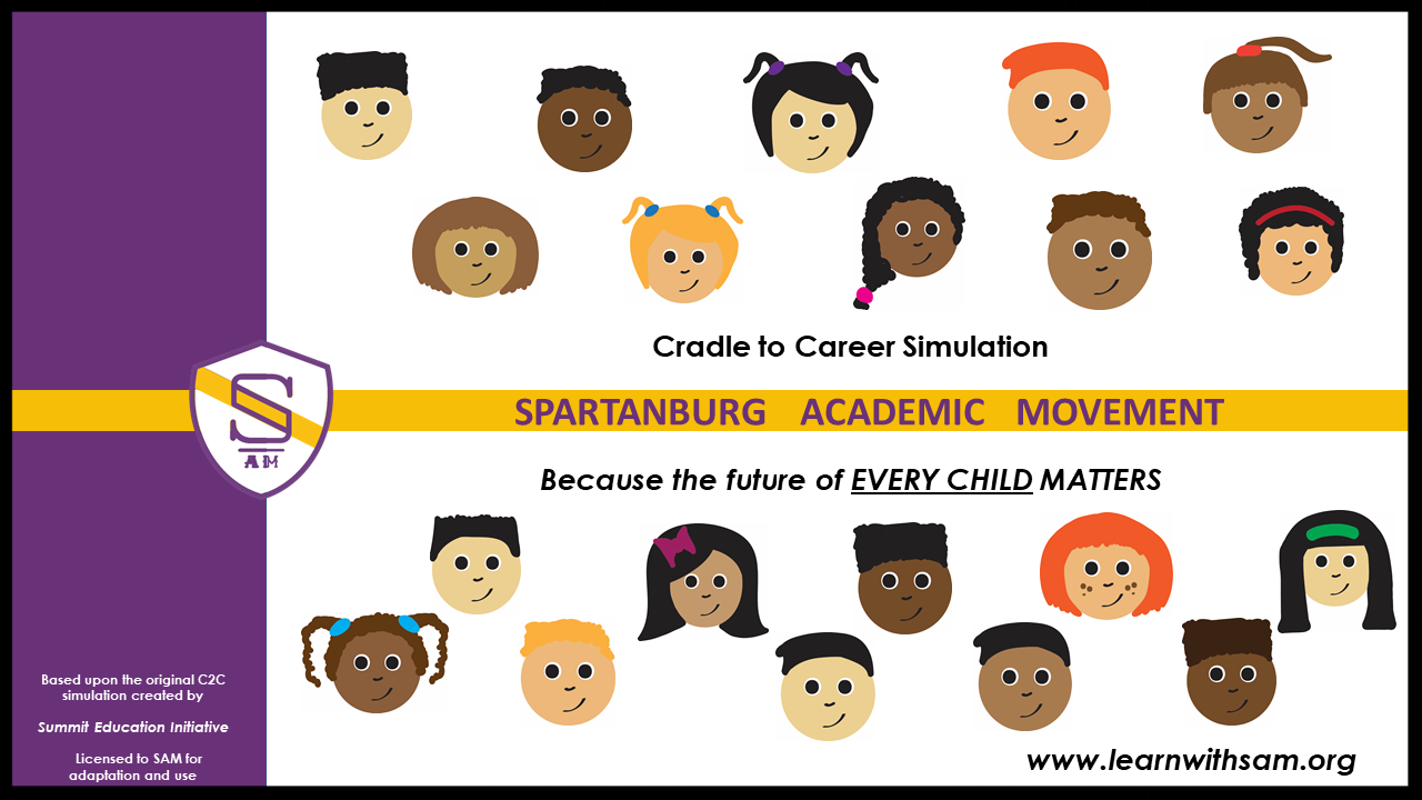 The Cradle to Career (C2C) Experience brings understanding and perspectives for those wishing to learn more about education in Spartanburg County.