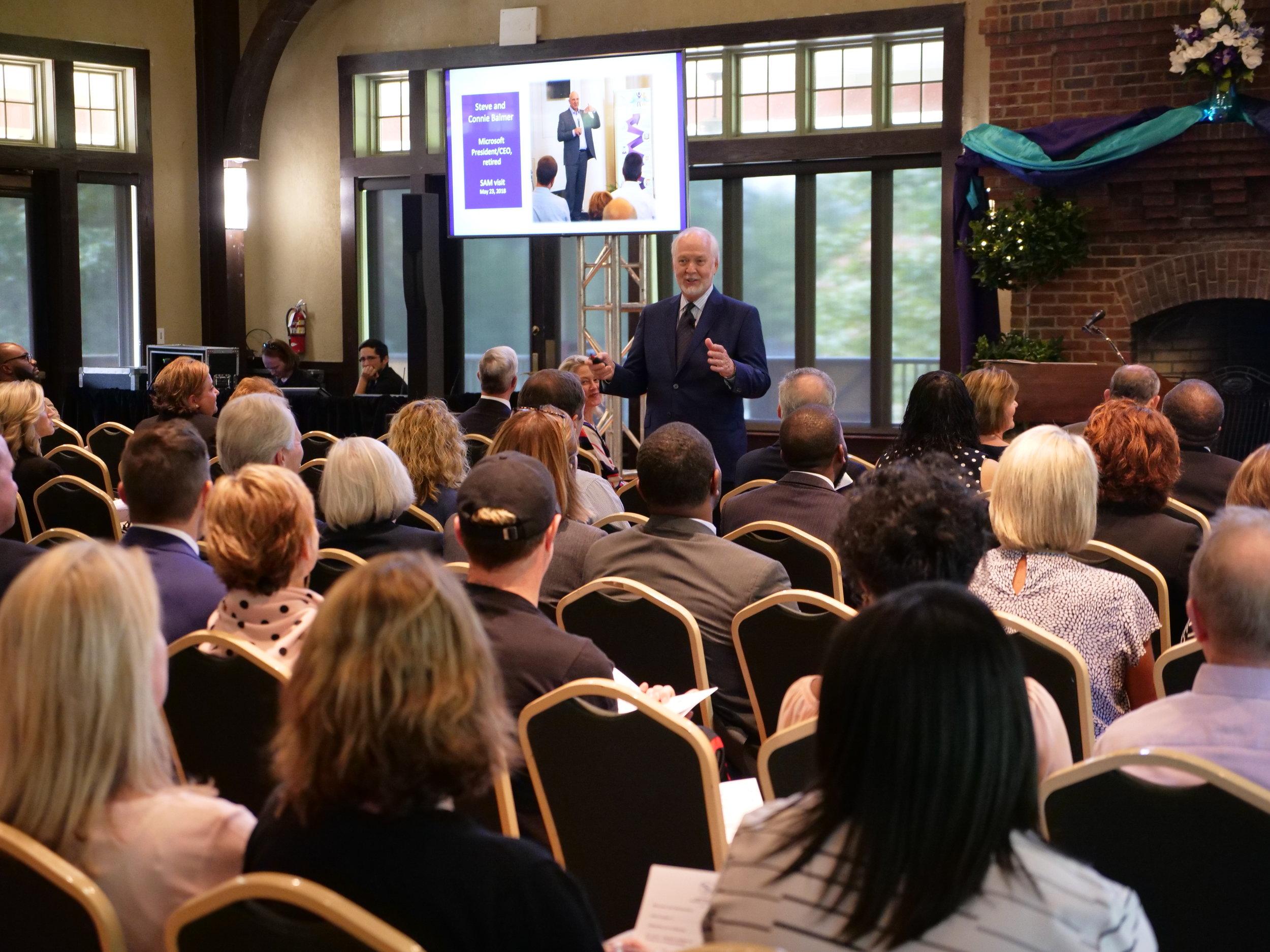 SAM Executive Director John Stockwell shares highlights of SAM's work 2018-2019