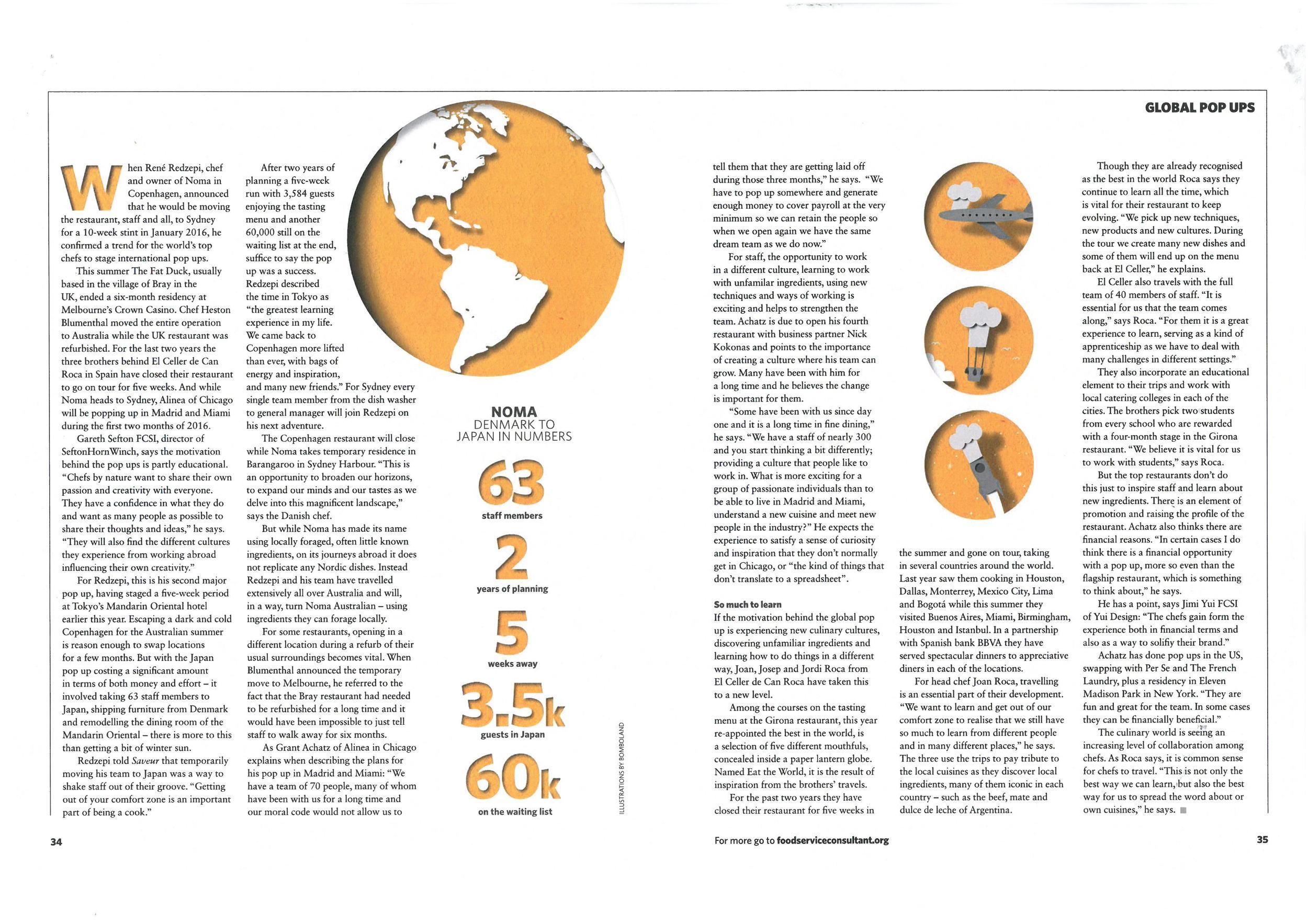 Courtesy of Foodservice Consultant magazine