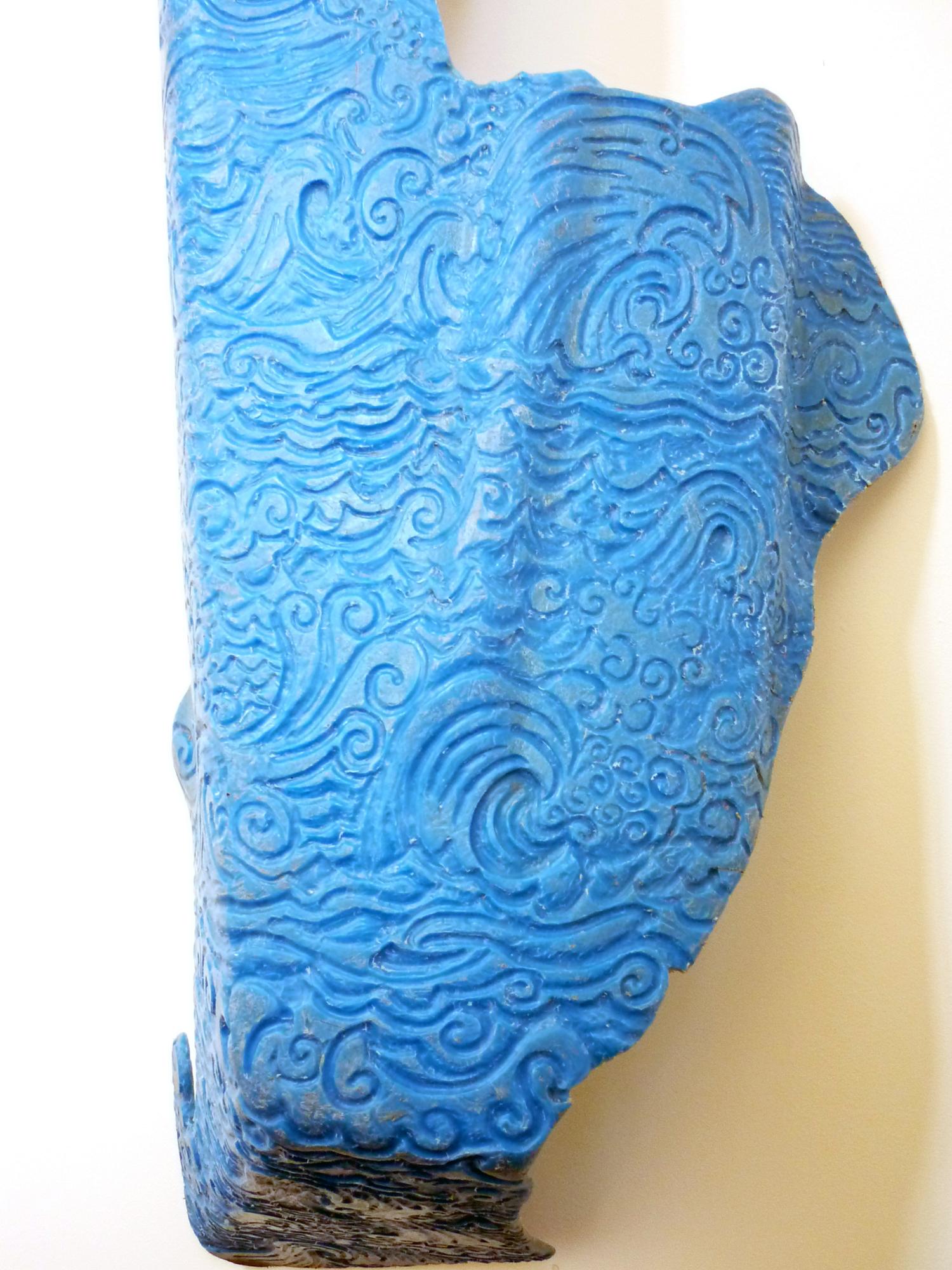 Washed up - blue