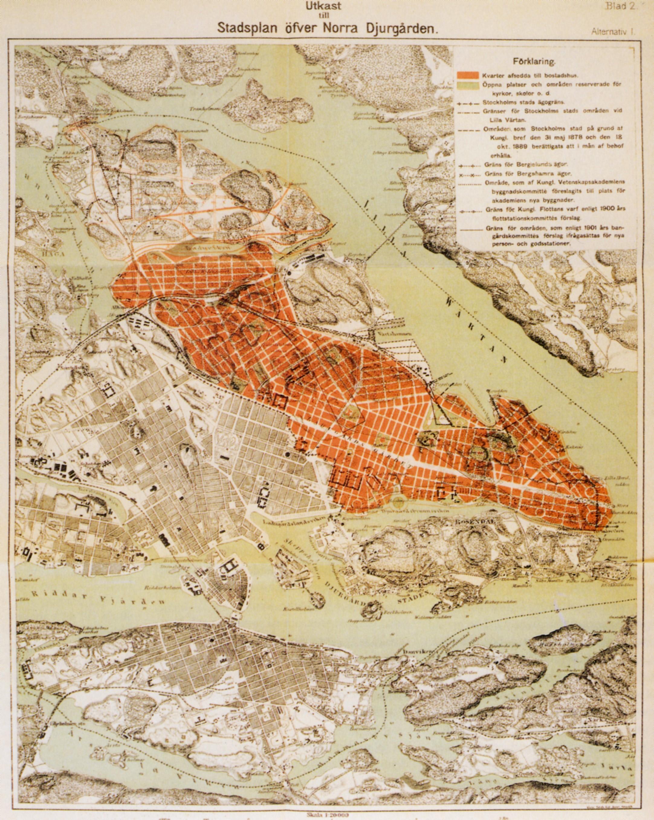 Norra Djurgården 1903