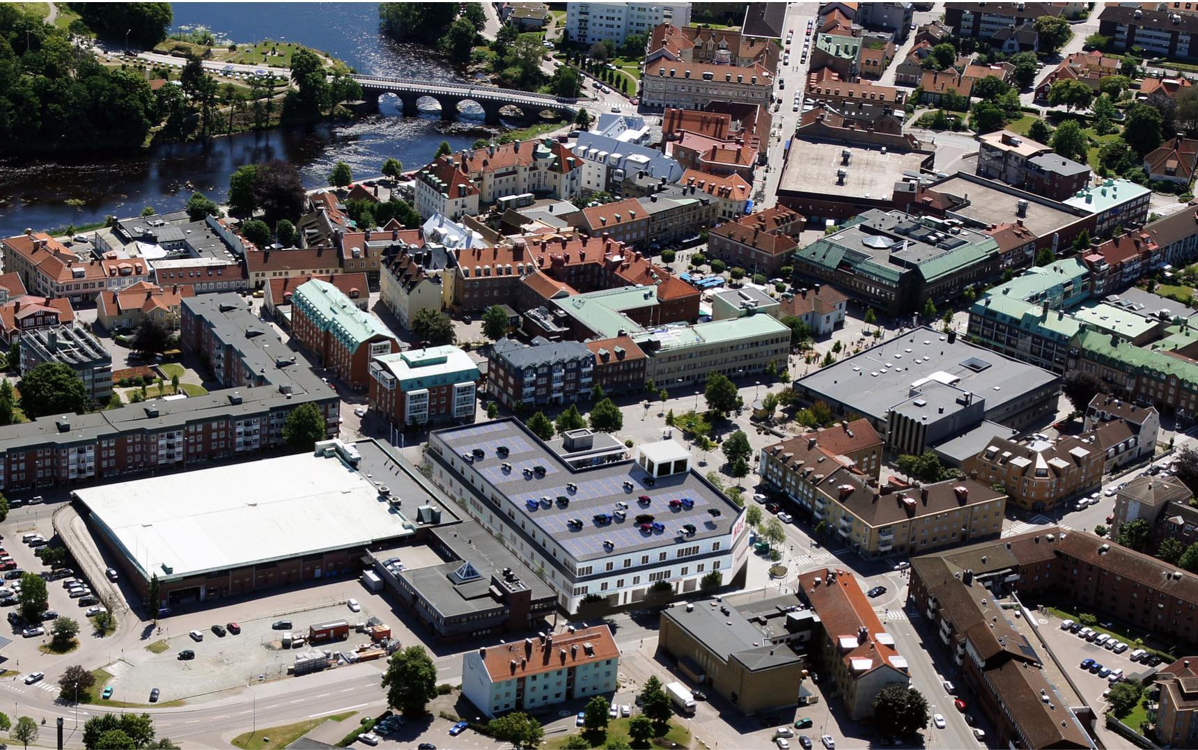 Handelsutveckling i Falkenbergs kommun