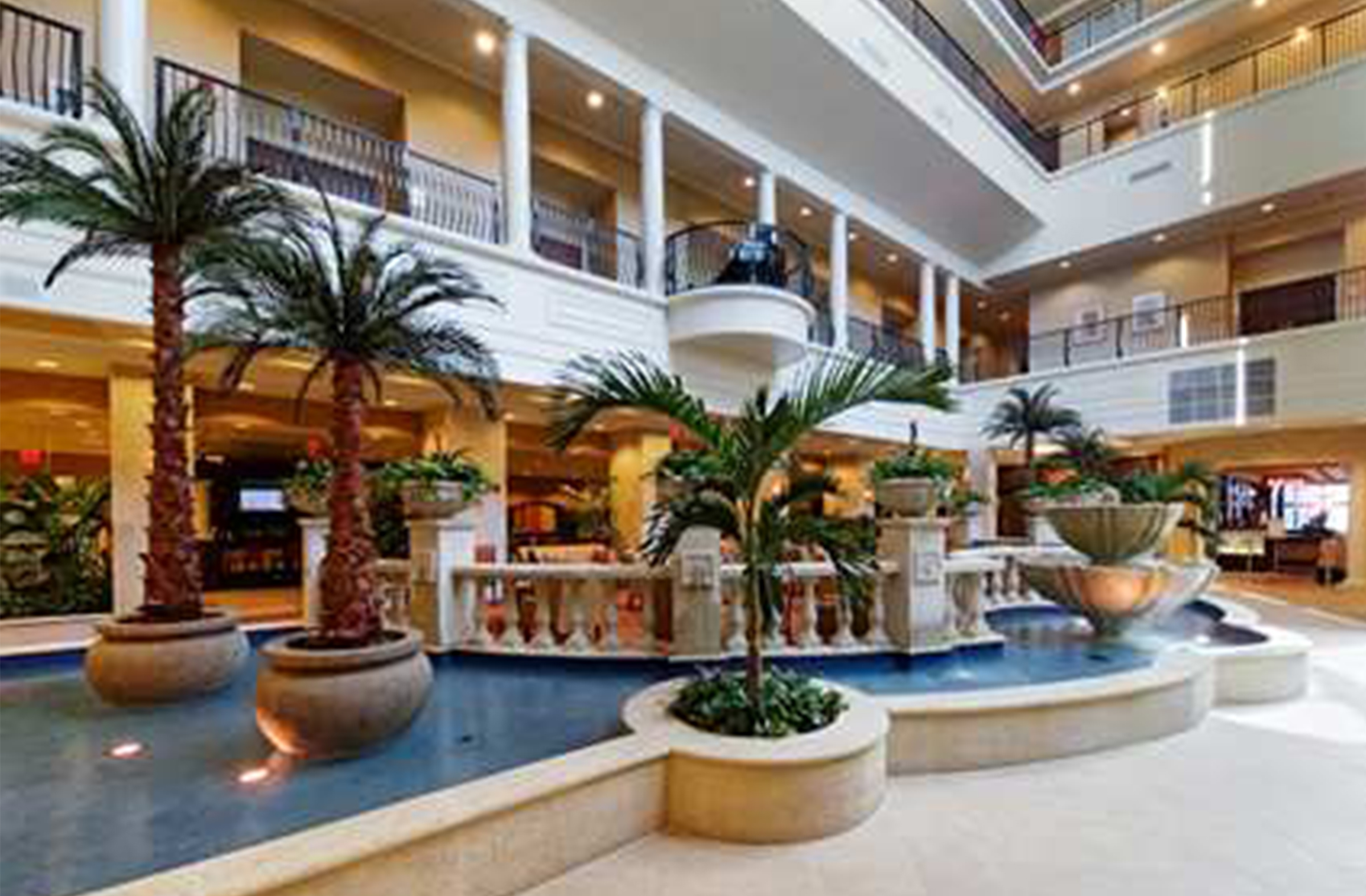 Embassy Suites Tampa Florida lobby
