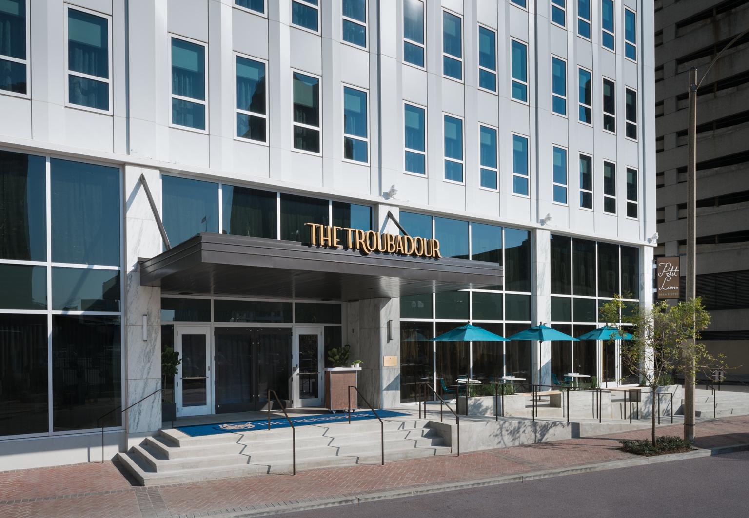 The Troubadour by Joie de Vivre New Orleans exterior