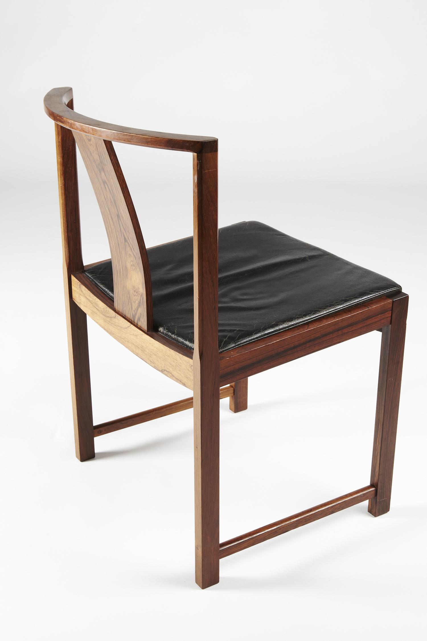 S E Rasmussen 1955 Dining Chair   • made 1955-69    •