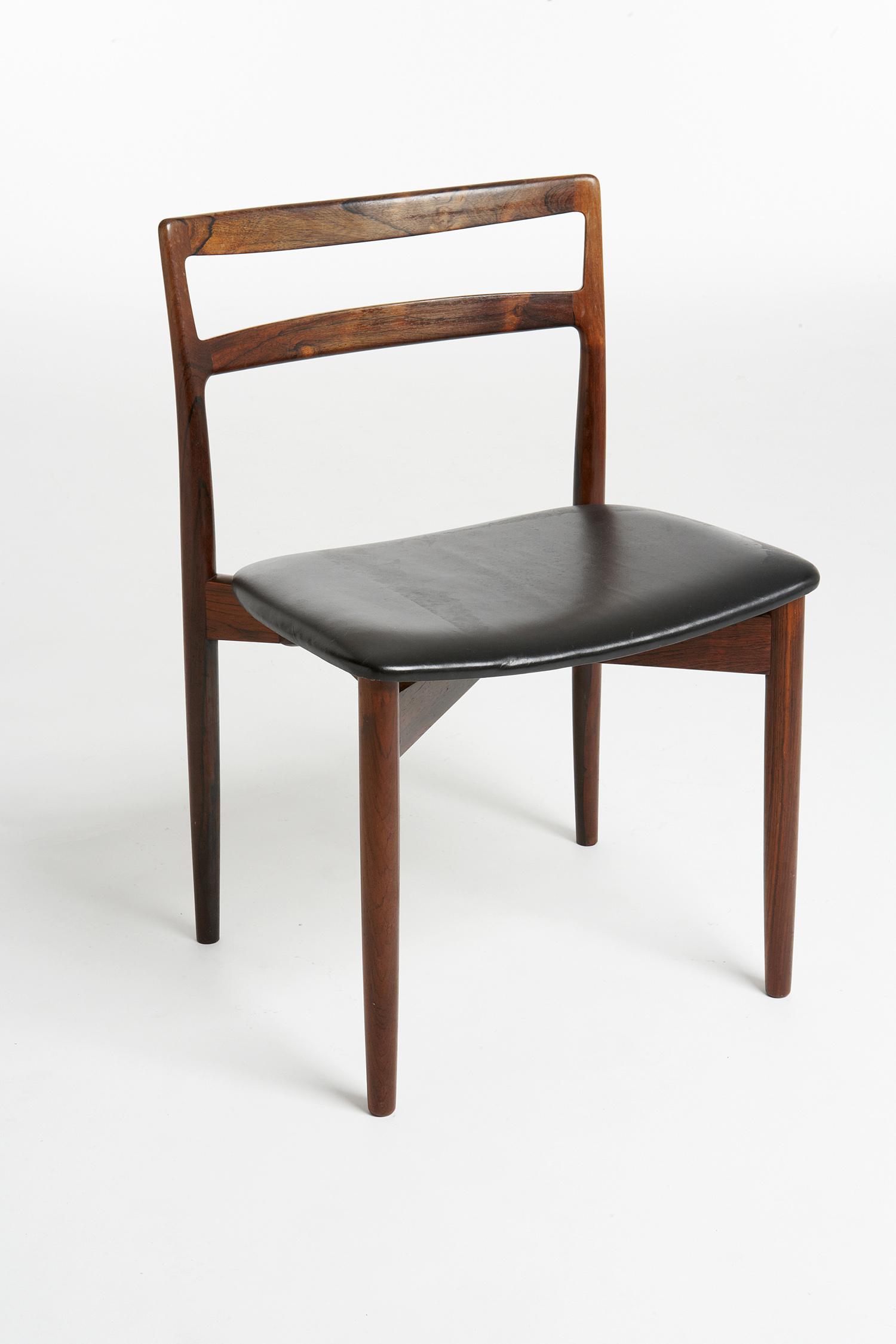 H Ostergaard 1960 Dining Chair   • made 1960-69    •